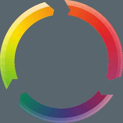 עיגול של צבעים