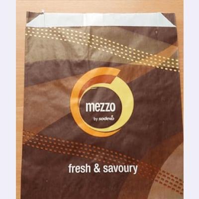 שקית מזון ממותגת mezzo